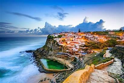 Portugal Coast Sintra Sea Background Wallpapers Ocean