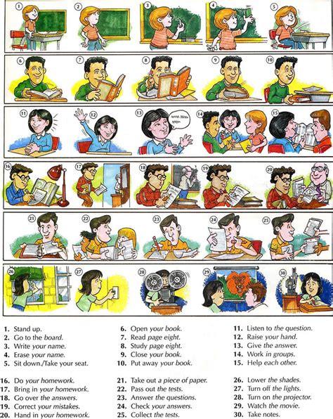 theme  classroom commands fun english lesson