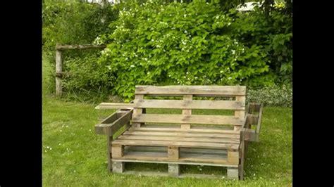 fabriquer chaise en bois banc de palette