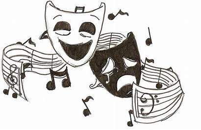 Sad Masks Happy Cliparts Mask Drama Theater