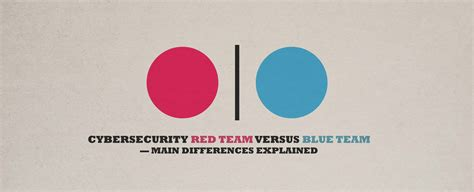 Cybersecurity Red Team Versus Blue Team — Main Differences ...
