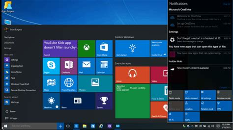 windows 10 build 10130 visual tour of new features