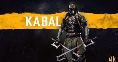 mortal kombat  switch kabal  confirmado como lutador