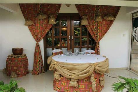 table des maries mariage africain en  deco mariage