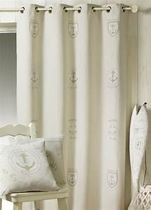 Rideaux Rayures Verticales : rideau ameublement rayures verticales marin naturel homemaison vente en ligne rideaux sur ~ Teatrodelosmanantiales.com Idées de Décoration