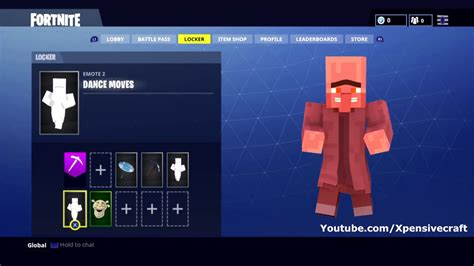 fortnite dance  minecraft part  youtube