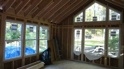 simple vaulted family room addition   rambler