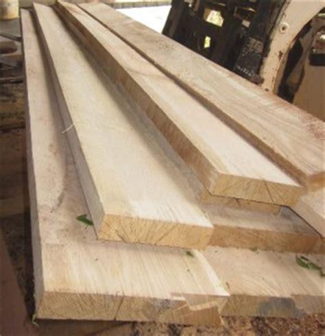 Rough Cut Hardwood Lumber 2x12x12