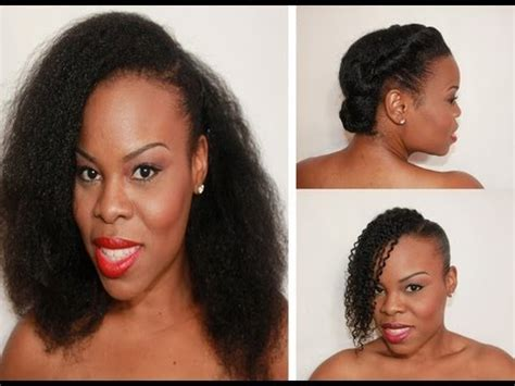 Hairstyles For Hair by Threat 3 Hairstyles For Quot Hair