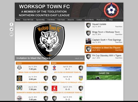 Worksop Town | Club Information | Football Web Pages
