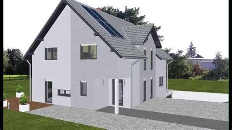 haus mit integrierter garage wolf haus geplant emi support einfamilienhaus mit keller garage im keller