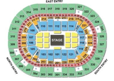 moda center seating chart seating charts