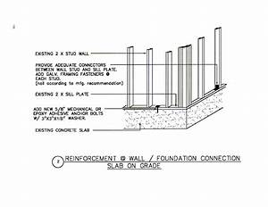 Wall    Foundation Connection
