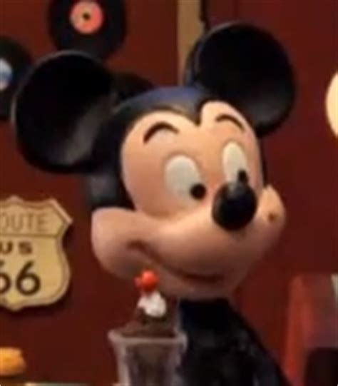 mickey mouse voice robot chicken show