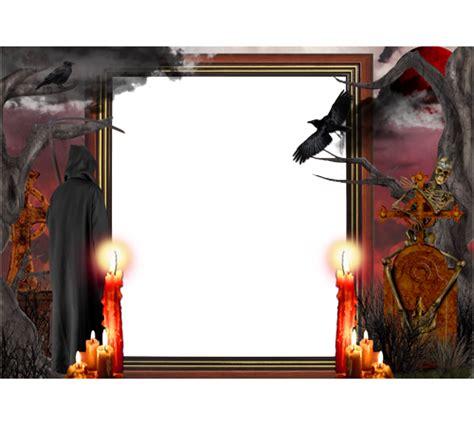 frame halloween png frame halloween transparent
