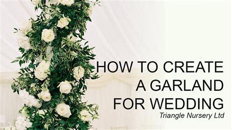diy   create  garland table runner youtube