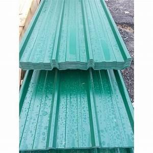 Tole Pour Toiture : t le bardage toiture verte 6005 63 100 1 05m de large 6m ~ Premium-room.com Idées de Décoration