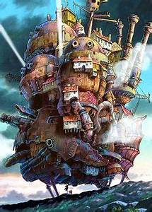Fire Heart | .Axis. 'Looks like howls moving castle's ...