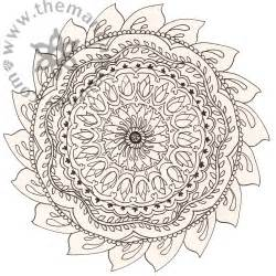 Mandala Coloring Pages People