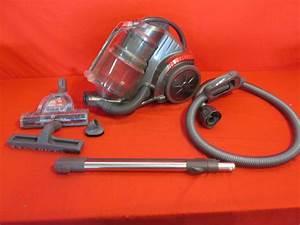 Hoover Zen Whisper Canister Sh40080 Hard Drive Vacuum Cleaner
