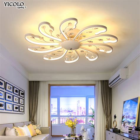 Led Lights For Room With Remote by Surface Mount Led Ceiling Lights L For Living Room Bed