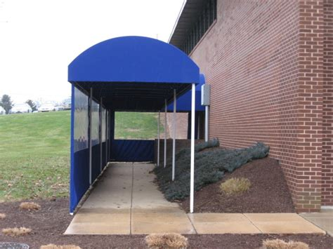 barrel style walkway cover clipper magazine offices