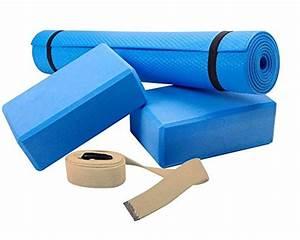 Scsports ensemble de yoga avec tapis 2 blocs et une for Tapis yoga avec canape angle toulouse