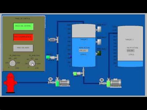 simulacion sistema scadaavi youtube