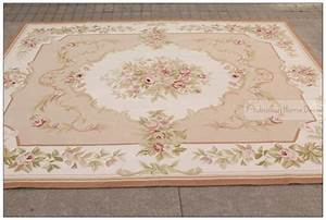 8'x10' Wool Hand Woven Shabby Chic French Style Aubusson ...