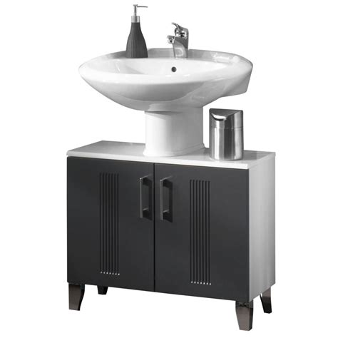 Badezimmer Waschbeckenunterschrank Grau by Waschbeckenunterschrank Greeceline Grau Wei 223 Schrank
