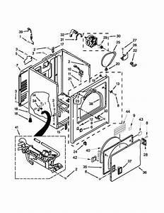 Roper Dryer Parts Diagram