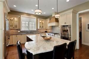cuisine idee deco cuisine ouverte sur salon avec clair couleur idee deco cuisine ouverte sur