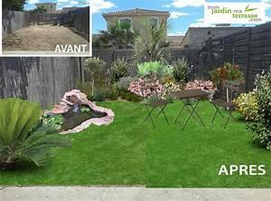 idee damenagement dun petit jardin monjardin With amenagement d un petit jardin de ville 0 amenagement jardin de ville avec bassin marseille