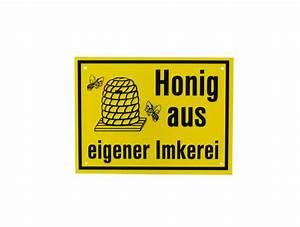 Honig Aus Eigener Imkerei : reklame tafel klein honig aus eigener imkerei imkereibedarf wespi ~ Whattoseeinmadrid.com Haus und Dekorationen
