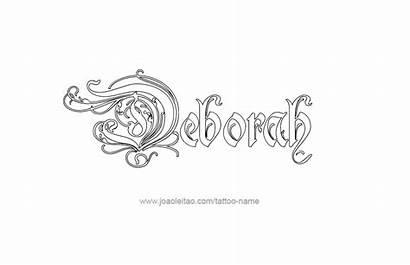 Deborah Tattoo Designs Joaoleitao Tattoos Names Advice