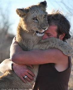 Fancy a cuddle? Lioness develops incredible heart-warming ...