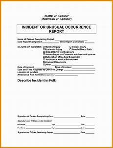 Sample Security Officer Incident Report 10 Incident Report Writing Sampletemplatess