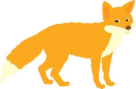 Fox Clip Art Image Black And White🤷