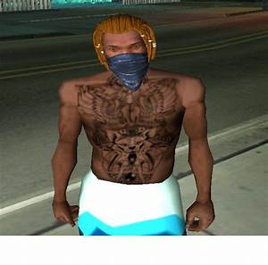 Gta San Andreas New Chest And Stomach Tattoo Mod