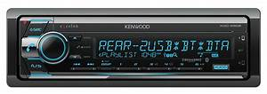 Kenwood Excelon Cd Receiver Built-in Bluetooth