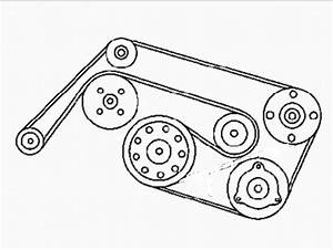 Need Mercedes Benz Serpentine Belt Diagram