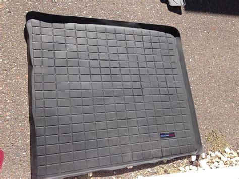 weathertech floor mats mn fs 5th gen weathertech floormat set black used 150 minneapolis mn toyota 4runner forum