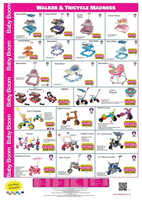 baby boom monthly specials  aug   sep