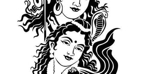 sketches  shiv parvati google search paintings