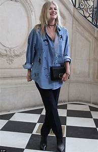 Outfits With Light Pink Shorts 30 Celebrity Inspired Denim Shirt Outfits We Love