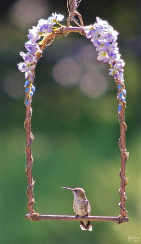 diy hummingbird perch hummingbird garden vintage garden