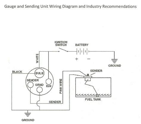 How Wire Fuel Sending Unit