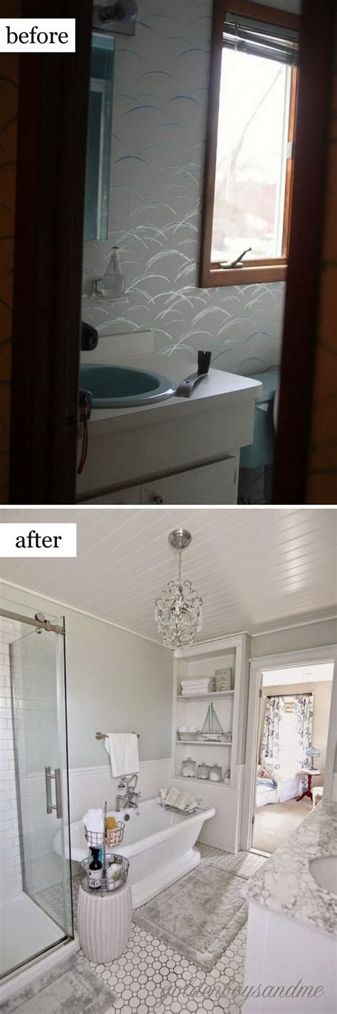 Show Bathrooms Makeovers by Before And After Makeovers 20 Most Beautiful Bathroom