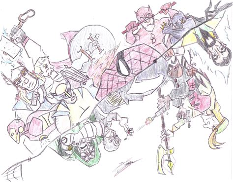 pictures marvel characters drawings drawings art gallery