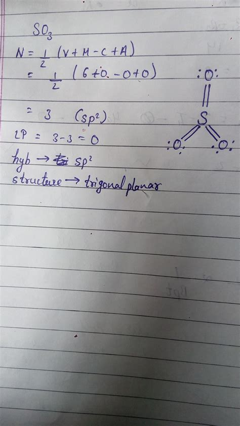 So3 2 Lewis Structure